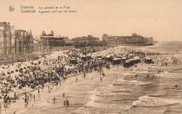 CPA - Belgique - Oostende - Ostende - Vue Générale De La Plage - Oostende