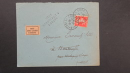 Lettre De Corbeil 1910 Pour Bondoufle Retour Envoyeur 4828 - Poststempel (Briefe)