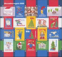 Netherlands 1753-1772 Folienbogen (complete Issue) Unmounted Mint / Never Hinged 1999 December Marks - Period 1980-... (Beatrix)