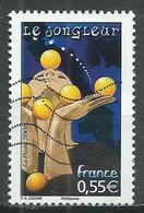 France YT N°4221 Le Jongleur Oblitéré ° - Frankreich