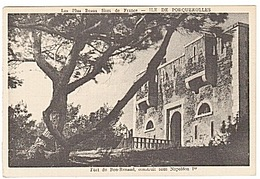 PORQUEROLLES - FORT DU BON RENAUD - C.T. - Porquerolles