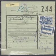 Vrachtbrief Met Stempel Oostende (Kaai) N°26 - Spoorwegen