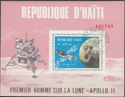 HAITI 1969 - MiNr: 1089  Block 42  Used - Raumfahrt