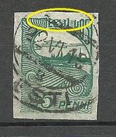 Estland Estonia 1920 Michel 15 E: 7 ERROR Abart Variety O - Estland