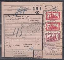 Vrachtbrief Met Stempel Oostende Voorhaven 4 - Spoorwegen