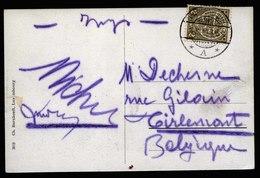 A6127) Luxemburg Ansichtskarte Luxembourg-Gare 08.08.10 N. Belgien - 1907-24 Abzeichen