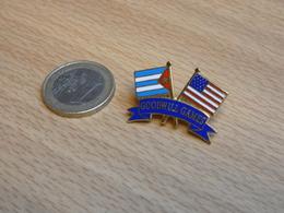 GOODWILL GAMES.  JEUX DE LA BONNE VOLONTE.  USA  CUBA . EGF. - Pin's