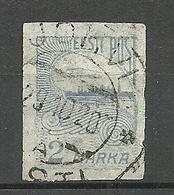 ESTLAND Estonia 1920 O JÕHVI Auf Michel 17 - Estland