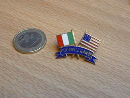 GOODWILL GAMES.  JEUX DE LA BONNE VOLONTE.  USA  ITALIE . EGF. - Pin's