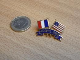 GOODWILL GAMES.  JEUX DE LA BONNE VOLONTE.  USA  FRANCE . EGF. - Pin's
