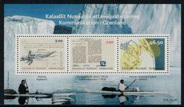 Groenland 2011 // Moyen De Communications Au Groenland  Bloc-feuillet Neuf ** MNH No.52 Y&T - Groenland