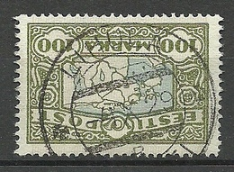 ESTLAND Estonia 1923 O LIHULA Michel 40 - Estland
