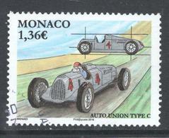Monaco, Yv 3025 Jaar 2016, Hogere Waarde, Gestempeld - Oblitérés