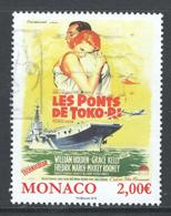 Monaco, Yv 3039 Jaar 2016, Hoge Waarde, Gestempeld - Oblitérés