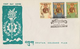 BHUTAN 1964 FDC Colombo Plan SCARCE.BARGAIN.!! - Bhutan