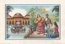 LAMINA 13889: Pareja En La Alhambra, Nuemro 51001 - Otras Colecciones