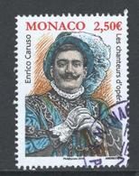 Monaco, Yv 3041 Jaar 2016, Hoge Waarde, Gestempeld - Oblitérés