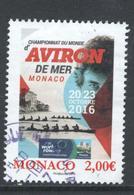 Monaco, Yv 3052 Jaar 2016, Hoge Waarde, Gestempeld - Oblitérés