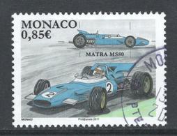 Monaco, Yv 3072 Jaar 2017, , Gestempeld - Used Stamps
