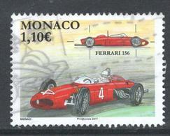 Monaco, Yv 3073 Jaar 2017, Hogere Waarde, Gestempeld - Oblitérés