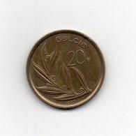 Belgio - 1980 - 20 Franchi - Vedi Foto - (MW2216) - 1951-1993: Baldovino I