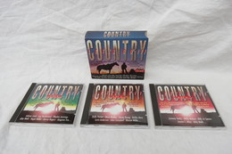 """3 CD-Box """"Country Let's Go"""" - Country & Folk"""