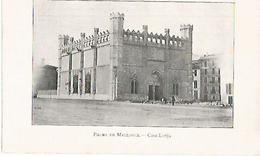 LAMINA 13833: Casa Lonja En Palma De Mallorca - Sin Clasificación