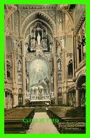 MONTRÉAL, QUÉBEC - SACRED HEART CHAPEL, NOTRE DAME CHURCH - CIRCULÉE EN 1909 - - Montreal