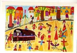 34 Le Folklore HERAULTAIS Sortie Du Loup De Loupian Pour Le Carnaval Des Enfants Des Ecoles(1991), Tirage Liite 250ex - Autres Communes