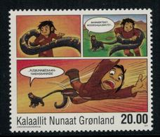 Groenland 2011 // Bande Dessinées Timbre Neuf ** MNH No.568 Y&T - Neufs