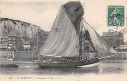 LE TREPORT - Barque De Pêche - Le Treport