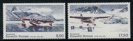 Groenland 2011 // Aviation Civil Timbres Neufs ** MNH No.566-567 Y&T - Neufs