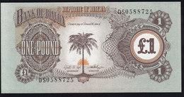 Biafra 1 Pound 1969 P5a UNC - Billetes