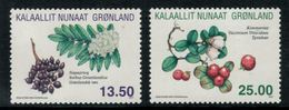 Groenland 2011 // Flore, Baies Sauvages Timbres Neufs ** MNH No.562-563 Y&T - Neufs