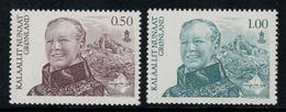 Groenland 2011 // Portrait De La Reine Timbres Neufs ** MNH No.564-565 Y&T - Groenland