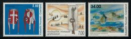 Groenland 2011 // Art Moderne Timbres Neufs ** MNH No.569-570-571 Y&T - Neufs