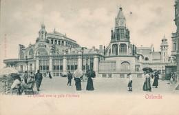 CPA - Belgique - Oostende - Ostende - Le Kursaal Avec La Salle D'écriture - Oostende