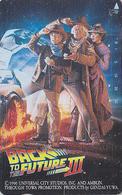 Télécarte Japon / 110-011 - CINEMA - BACK TO THE FUTURE ** MICHAEL J. FOX  - MOVIE Japan Phonecard - KINO TK - 11247 - Cinéma