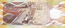 Barbados P.75  10 Dollars 2017  Unc - Barbados