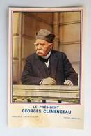 C. P. A. : Le Président GEORGES CLEMENCEAU, Publicité Librairie PLON - Hommes Politiques & Militaires