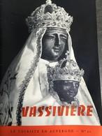 - Eglise D' Auvergne -  Notre Dame De Vassivière - 1969 - Le Touriste En Auvergne - Histoire Et Archéologie - - Auvergne