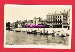 33 Gironde BLAYE Cours Du Port Et Le Chenal à Marée Haute - Blaye