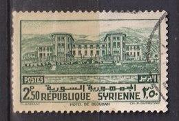 Colonies Françaises - SYRIE -  1940 - Timbre Oblitéré N° YT 256 - Prix Fixe Cote 2017 à 15% - Gebraucht