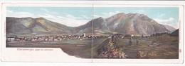 Double Carte Panramique: Oberammergau Gegen Die Laberköpfe - Oberammergau