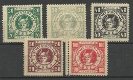 Germany Deutsches Reich Ca 1880 Stadtpost ESSEN Local Private City Post MNH/MH - Privatpost