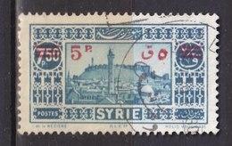 Colonies Françaises - SYRIE -  1938 - Timbre Oblitéré N° YT 244 - Prix Fixe Cote 2017 à 15% - Gebraucht