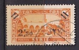 Colonies Françaises - SYRIE -  1938 - Timbre Oblitéré N° YT 243 - Prix Fixe Cote 2017 à 15% - Gebraucht