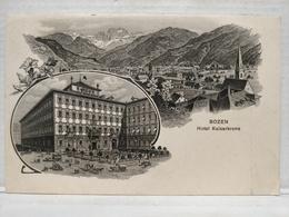 Bozen. Hôtel Kaiserkrone - Bolzano (Bozen)