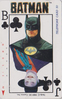 Télécarte Japon / 110-74013 - CINEMA - BATMAN & Carte à Jouer Playing Card - MOVIE Japan Phonecard - KINO TK - 11250 - Cinéma