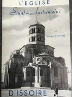 - Eglise D' Auvergne - St Austremoine D'Issoire - 1957 - Georges De Bussac - Histoire Et Archéologie - - Auvergne